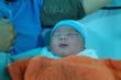 Bé sơ sinh nặng 5,1kg ở Quảng Nam