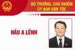 Infographic: Sự nghiệp Bộ trưởng, Chủ nhiệm Ủy ban Dân tộc Hầu A Lềnh