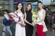 Nam Em, Tường Linh ra sân bay tiễn Hà Thu lên đường thi Miss Earth 2017
