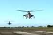 Video: Trực thăng Mi-8, Mi-24 của Nga bắt đầu giám sát không phận Karabakh