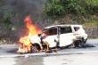 Ô tô phát nổ rồi bốc cháy, 2 người thiệt mạng