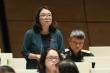 Đại biểu Phạm Thị Minh Hiền: 'Sự cố xã hội hóa SGK là một câu chuyện cay đắng'