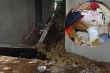 Hà Tĩnh: Mưa lớn nhiều ngày, đất đá đổ sập nhà dân, 2 cháu nhỏ bị thương