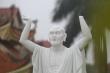 Video: Cận cảnh gần 20 pho tượng La Hán bị đập phá không thương tiếc ở Hà Nội