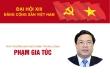 Infographic: Sự nghiệp Phó trưởng Ban Nội chính Trung ương Phạm Gia Túc