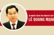 Infographic: Sự nghiệp tân Bí thư Thành ủy Cần Thơ Lê Quang Mạnh