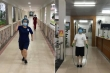 Y bác sĩ Bệnh viện Bạch Mai tập thể dục, lạc quan chiến đấu chống dịch