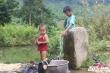 Ngôi làng gần như tách biệt với thế giới bên ngoài giữa đại ngàn Phong Nha