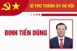 Infographic: Sự nghiệp Bí thư Thành ủy Hà Nội Đinh Tiến Dũng