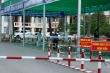 Phun khử khuẩn Bệnh viện Quân y 120 ở Tiền Giang