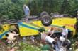 Xe khách lao xuống vực ở Kon Tum: 4 người chết, nhiều người bị thương