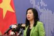 Mỹ gửi công hàm bác yêu sách của TQ ở Biển Đông: Bộ Ngoại giao nêu lập trường