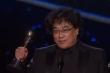 Video: Khoảnh khắc lịch sử 'Ký sinh trùng' được vinh danh tại Oscar 2020