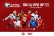 Xem vòng loại World Cup 2022 trên ứng dụng TV360