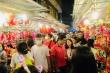 Phố lồng đèn ở TP.HCM đông nghẹt người đi chơi Trung thu