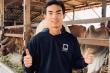 Ngôi sao U23 Thái Lan về quê chăn bò phụ giúp gia đình