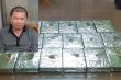 Bắt kẻ vận chuyển 17 bánh heroin trên tàu hỏa