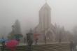 Không khí lạnh tràn về, Bắc Bộ mưa dông,  Sa Pa xuống xấp xỉ 10 độ C