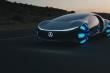 Khám phá hệ thống điều khiển không vô lăng, nút bấm của Mercedes Vision AVTR