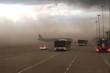 Bụi mù mịt che khuất cả tàu bay: Lãnh đạo sân bay Phú Bài nói gì?