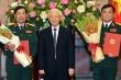 Tổng Bí thư, Chủ tịch nước trao quyết định thăng quân hàm 2 tướng lĩnh
