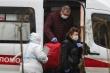 Số người mắc COVID-19 ở Nga tăng báo động, công dân Trung Quốc tự cách ly