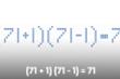 Có cách nào để (71 + 1) (71 - 1) = 71 là phép tính đúng?