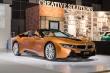 Siêu xe hybrid BMW i8 Roadster hiếm hoi đến châu Á