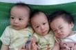 Sau 8 năm hiếm muộn, vợ chồng ôm nhau khóc khi đón cùng lúc 3 con