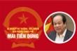 Infographic: Sự nghiệp Bộ trưởng, Chủ nhiệm Văn phòng Chính phủ Mai Tiến Dũng