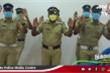 Độc đáo 'vũ điệu rửa tay' trên nền nhạc truyền thống của cảnh sát Ấn Độ
