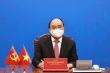 Chủ tịch nước Nguyễn Xuân Phúc điện đàm với ông Tập Cận Bình