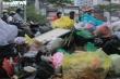 Dân chặn xe vào bãi rác Nam Sơn, rác thải ùn ứ bốc mùi hôi thối khắp phố Hà Nội
