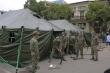 Cận cảnh bệnh viện dã chiến Bạch Mai xây dựng trong 4 giờ