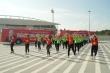 Xúc xích Đức Việt chơi lớn cổ vũ bóng đá Việt Nam tại chảo lửa Mỹ Đình