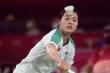 Thua tay vợt số 1 thế giới, 'hot girl' cầu lông Thùy Linh vẫn nhận mưa lời khen