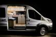 Xe Ford Transit biến thành nhà di động đầy tiện nghi