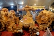 Choáng ngợp nội thất bằng gỗ khổng lồ, giá siêu đắt ở hội chợ Hà Nội