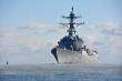 Chiến hạm Mỹ di chuyển gần nơi Trung Quốc tập trận