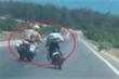 Clip: Nam thanh niên cầm hung khí, chạy xe lạng lách thách thức CSGT
