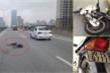 Phóng xe máy vào đường cấm vành đai 3 trên cao, nam thanh niên bị taxi tông chết