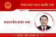 Infographic: Sự nghiệp Phó Chủ tịch Quốc hội Nguyễn Đức Hải