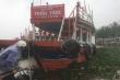 Ảnh: Mưa xối xả cuốn cả tấn lục bình bủa vây con sông chảy qua phố cổ Hội An