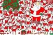 Thử thách ngày Giáng sinh: Đố bạn tìm được chiếc mũ của ông già Noel trong bức tranh sau