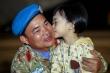 Ảnh: 31 chiến sĩ mũ nồi xanh Việt Nam từ Nam Sudan về nước