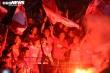 Ban tổ chức sân Hàng Đẫy 'vỡ trận', không cản được CĐV Hải Phòng đốt pháo sáng