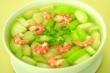 Món ngon mỗi ngày: Canh bí xanh nấu tôm tươi