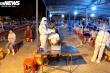 Ảnh: Xuyên đêm lấy mẫu xét nghiệm COVID-19 cho hơn 2.500 người làm ở cảng cá