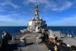 Mỹ điều tàu khu trục USS Russell đi qua eo biển Đài Loan