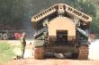 Lính công binh tập lái xe bọc thép vượt địa hình hiểm trở để dự Army Games 2020